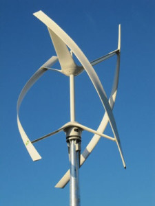 impianti eolici asse verticale
