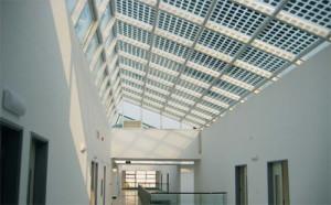 impianti fotovoltaici integrati vetro vetro trasparente