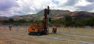 pali fondazione impianti fotovoltaici
